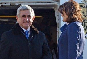 Sarkisyan Qazaxıstana getdi