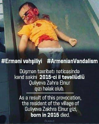 Şəhid balası Zəhra
