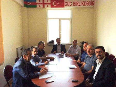 """""""Borçalı"""" Cəmiyyəti İdarə Heyəti yeni tərkibdə ilk toplantısını keçirdi"""