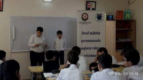 """Gənclər təşkilatı """"Təbiətin Dostları"""" qrupu yaradır"""