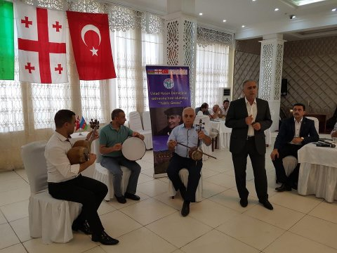 """""""Borçalı"""" Cəmiyyətinin  Təbriz Gecəsi"""