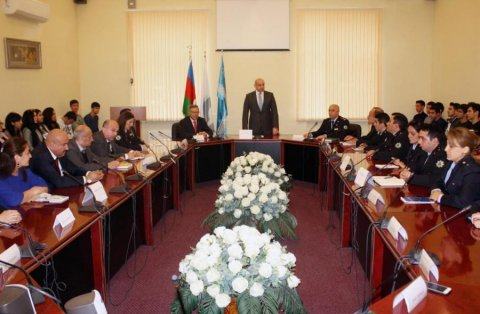 Dövlət Gömrük Komitəsinin Akademiyasında Konstitusiya günü