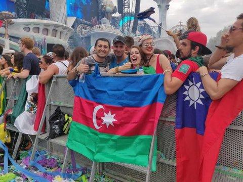 Azərbaycan millisini bir azarkeş qarşıladı