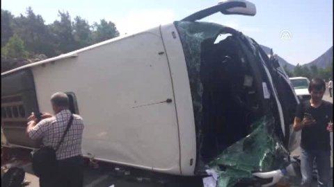 Bakıda avtobus qəzası törədən sürücü öldü