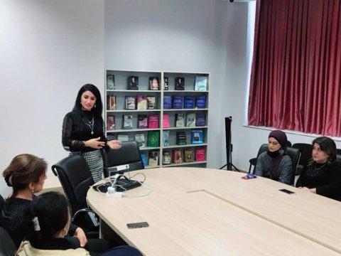 Mərkəzi Elmi Kitabxana Vahid Qeydiyyat Sisteminin yenilikləri ilə bağlı təlim keçirib