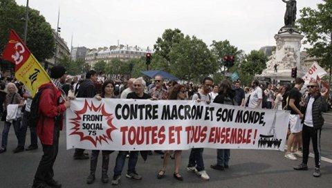 Parisdəki aksiyaların vurduğu zərər hesablandı