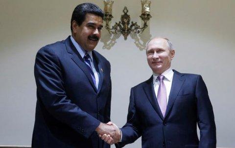 Putin Venesuela prezidenti ilə görüşəcək