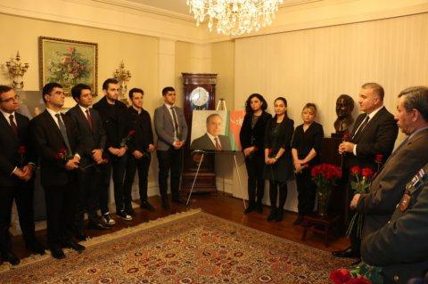 Vaşinqtonda ümummilli lider Heydər Əliyevin əziz xatirəsi anılıb