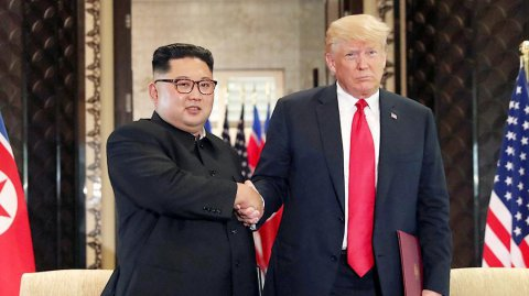 Yaxın vaxtlarda Kim Çen Inla Donald Trampın görüşü olacaq