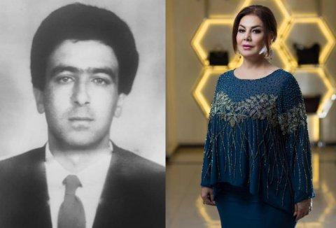 Əməkdar artist şəhid ərinin görüntülərini paylaşdı