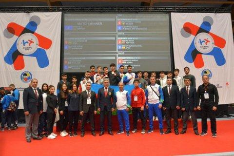Azərbaycan Avropa çempionatından beş medalla qayıdır - FOTO