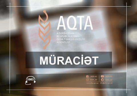 AQTA sahibkarlara müraciət edib