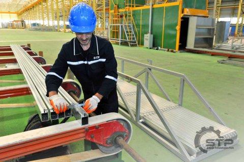 STP Qazaxıstana Alüminium profil ixrac etməyə başlayıb - FOTOLAR