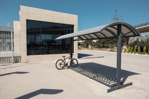 Abşerondakı bütün dəmir yolu stansiyalarında velosiped dayanacaqları olacaq