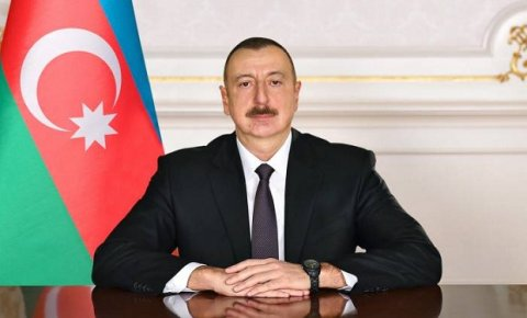 """Prezident Ağdamda """"N"""" saylı hərbi hissədə olub"""