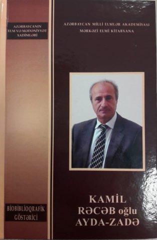 AMEA-nın müxbir üzvü Kamil Ayda-zadənin biobiblioqrafik göstəricisi hazırlanıb