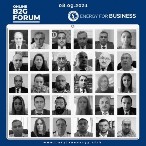 """Növbəti """"Online B2G Forum"""" təşkil edilib"""
