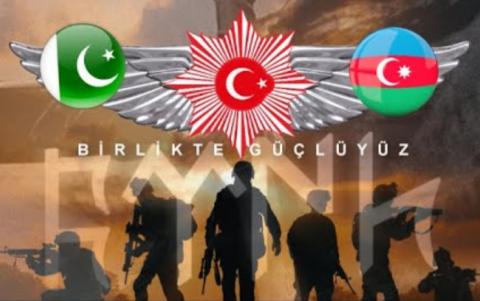 """Rusiya """"Üç Qardaş"""" təlimini həyəcanla izləyir - Səbəbləri"""